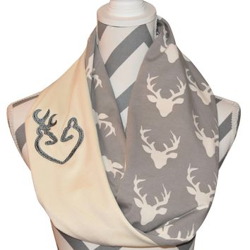 Stag Scarf