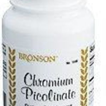 [Pack of 2] Bronson Chromium Picolinate, 100 Tablets Each