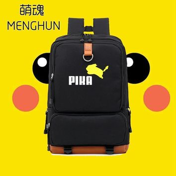 KAWAII new concept  Pikachu Cute backpack  lovely backpack for game fans girl backpack NB115Kawaii Pokemon go  AT_89_9