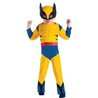 Super Hero Squad Wolverine Muscle Toddler Costume