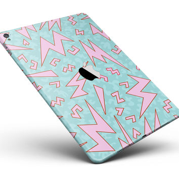 """90's Zig Zag Full Body Skin for the iPad Pro (12.9"""" or 9.7"""" available)"""