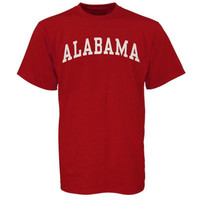 Alabama Crimson Tide Arch T-Shirt – Crimson