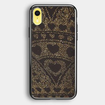Asos Leggings In Glitter Heart iPhone XR Case | Casefruits