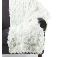 THRO BY MARLO LORENZ SIGNATURE Jacqueline Faux Fur Throw