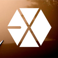 EXO Kpop Band Car Window iPad Notebook Decal Sticker