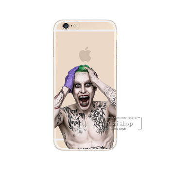 The Joker Phone Case For iPhone 7 7Plus 6 6s Plus 5 5s SE