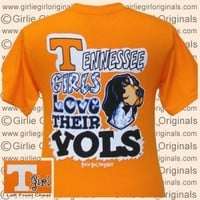 Tennessee T-shirt: Tennessee Girls (Short Sleeve) [t-tn-vol] - $16.99 : Girlie Girl™ Originals - Great T-Shirts for Girlie Girls!