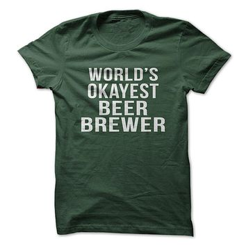 World's Okayest Beer Brewer-Clearance