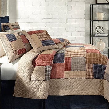 Cremieux Clayton Plaid Quilt Mini Set | Dillards