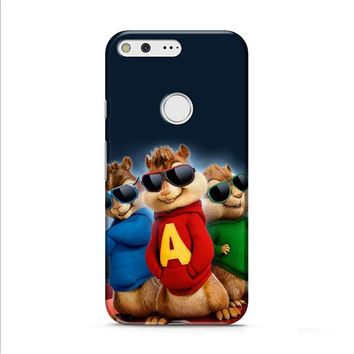 Alvin And The Chipmunks The Road Chip Movies Glasses Hip Hop Google Pixel XL 2 Case