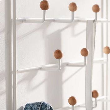 Etta Over-The-Door Multi-Hook Storage | Urban Outfitters
