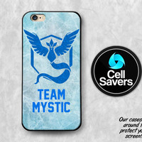 Team Mystic iPhone 6s Case iPhone 6 Case iPhone 6 Plus iPhone 6s Plus iPhone 5c iPhone 5 iPhone SE Case Pokemon Go Blue Team Ice Trainer