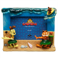 Garfield - Tiki Hula Bobble Picture Frame
