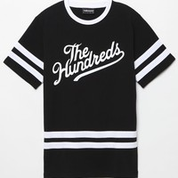 The Hundreds Nando Jersey T-Shirt - Mens Tee - Black