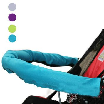 2017 Baby Stroller Accessories Baby Car Unpick And Wash Baby Stroller 600D Oxford Fabric Armrest Set large Children Cart