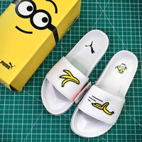 Puma Minion Black Sandals - Best Online Sale
