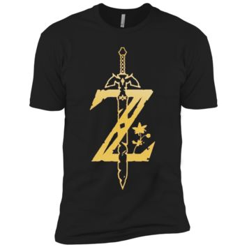 Zelda Breath of the Wild Cosplay Casual T-shirt NL3600 Next Level Premium Short Sleeve T-Shirt
