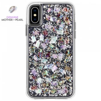 Mother Of Pearl Karat iPhone Xs / X Case | Case-Mate