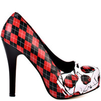 Iron Fist - Skulls Platform - Black and Red