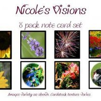 Notecard Variety pack 9 by NicolesVisions on Zibbet