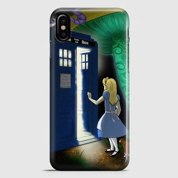 Alice In Wonderland Quote iPhone X Case