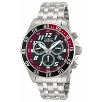 Invicta 14509 Men's Pro Diver Black Dial Chronograph Stainless Steel Dive Watch
