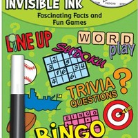 Yes & Know  Invisible Ink Trivia & Game Book-Ages 12-112