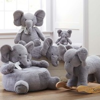 Elephant Plush Play Mat | Pottery Barn Kids