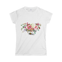 World's Best Mother Softstyle Women's T-Shirt, Best Mother T-shirt