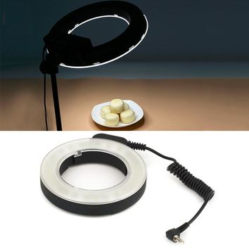 Professional Round 48 LED Ring Flash Light Photography