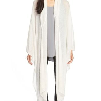 Women's Eileen Fisher Mohair Blend Poncho,