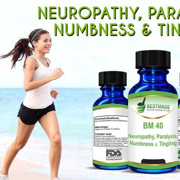 Neuropathy, Paralysis, Numbness & Tingling (BM40)