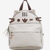 Pusheen Winking Faux Leather Mini Backpack