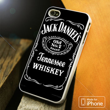 Jack Daniels Tennessee Whiskey Logo iPhone 4(S),5(S),5C,SE,6(S),6(S) Plus Case