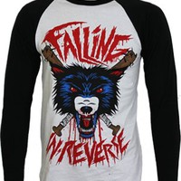 Falling In Reverse Wolf Baseball T-Shirt - Offical Band Merch - Buy Online at Grindstore.com