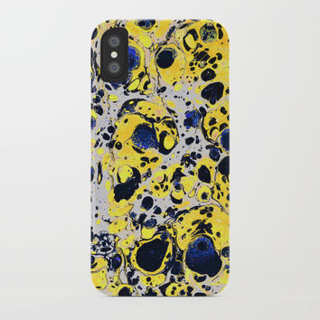 Marble iPhone Case by Printerium