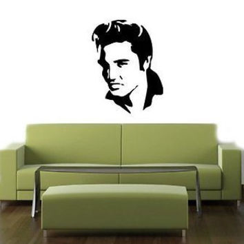 Elvis Presley The King Music Wall Art Sticker Decal t295