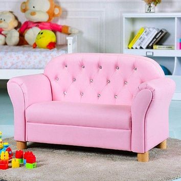 Kids Sofa Princess Armrest Chair Lounge