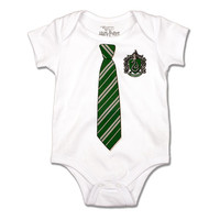 Slytherin™ Tie Infant Onesuit | Universal Orlando™