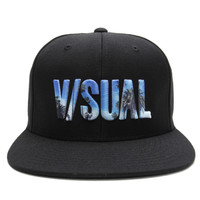 Visual by Van Styles - Palmed Snapback Cap (Black)