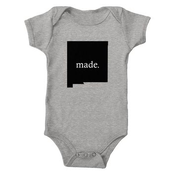 New Mexico Made 100% Cotton Infant One-Piece Bodysuit