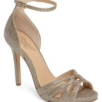 Jewel Badgley Mischka Loyal Glitter Sandal (Women) | Nordstrom
