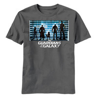 Guardians Of The Galaxy The Line-Up Mens T-Shirt