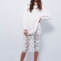 Stone Cold Fox Womens Elliot Lace Skirt