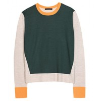 mytheresa.com -  The Row - KENT CASHMERE AND SILK PULLOVER - Luxury Fashion for Women / Designer clothing, shoes, bags