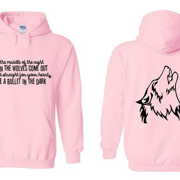 "One Direction ""Wolves"" Hoodie Sweatshirt"