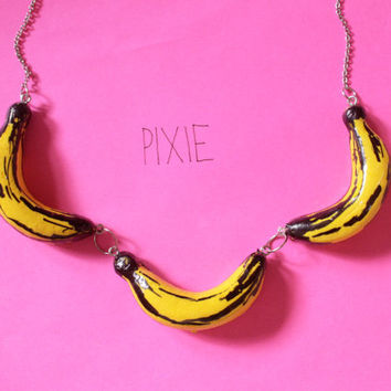 The Velvet Underground necklace - inspired by the art of Andy Warhol