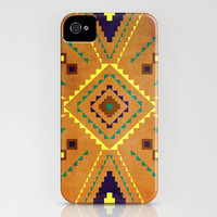 Native Star (burnished) iPhone Case by CrazyJane | Society6