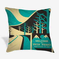 Welcome to Twin Peaks Pillow Case