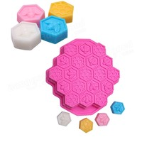 19 Cavities Silicone Honeycomb Cake Molds Mould Muffin Chocolate DIY Cake Mold